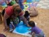 paint - sensory activity